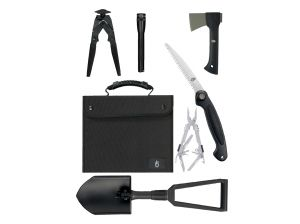 Gerber Offroad Survival Kit/SUV Kit, Black Nylon Case