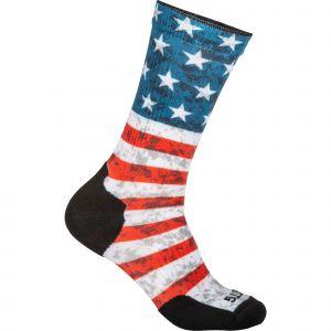 5.11 Tactical Men's Sock & Awe American Flag Crew Shirt