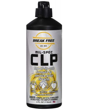 Break Free CLP 4 FL. OZ. (118 ML) Squeeze Bottle