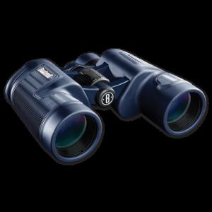 Bushnell 8X42 Black Porro, Bak-4, WP/FP, Twist Up Eyecups, Box 6L