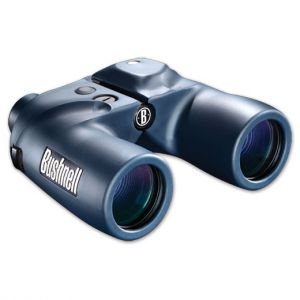 Bushnell 7X50MM Blue Porro Prism, Compass, Ranging Reticle, WP,FP, Box