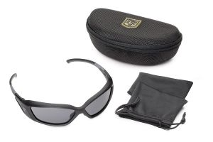 Revision Military Hellfly Photochromic Ballistic Sunglasses Black Frame With Photochromic Lenses