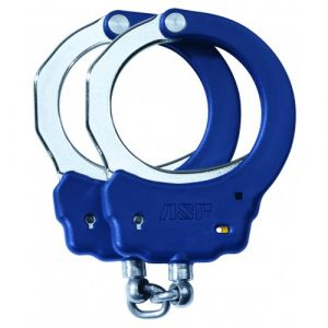 ASP Flex Handcuffs Chain Identifier (Steel Bow)-Blue