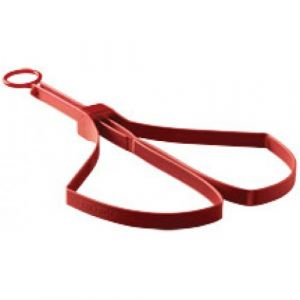 ASP Tri-Fold Restraints (6-Pak Red)