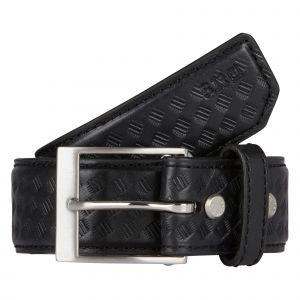 """5.11 Tactical 1.5"""" Basketweave Leather Belt"""