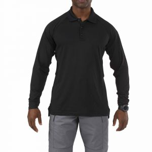 5.11 Tactical Men's Performance Long Sleeve Polo Shirt