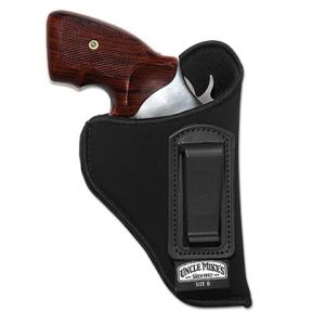 Uncle Mike's Itp Holster Lh, W/Ret Strap, Clam