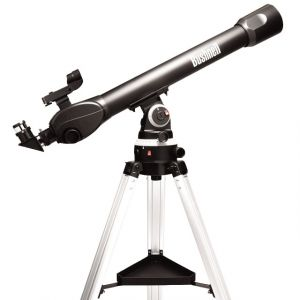 Bushnell 800X70MM Voyager Refractor, Sky Tour W/LCD Handset, 6L Box