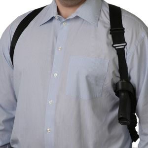 Uncle Mike's Horizontal Shoulder Holster , Ambi, Clam