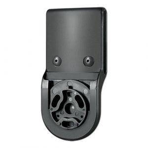 Uncle Mike's Rotating Belt Loop Kydex Black, Attachment Only Quick Release, Poly Bag