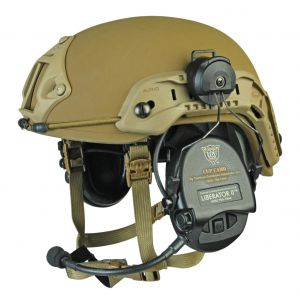 Safariland Delta™ 5 Ballistic Helmet Boltless w/ TM Rails and NVG Shroud