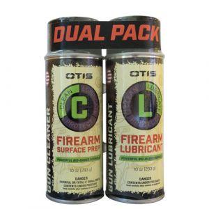 OTIS Firearm Surface Prep & Firearm Lubricant Dual Pack