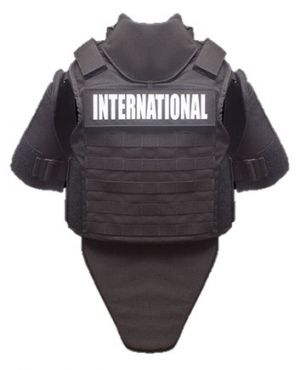 Point Blank International Base Vest with Soft Armor