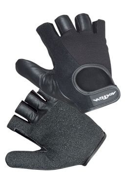 Hatch Leather Wheelchair Para-Push Gloves, Half Finger