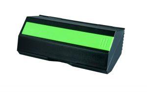 Wiley X YF Black Case W/Lime Green Ruler