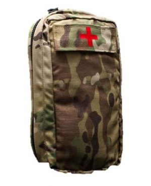 Paraclete Zipper Medical Pouch Tuck Strap